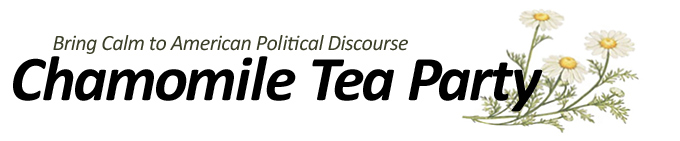 Chamomile Tea Party: Bringing Calm to American Political Discourse
